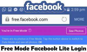 Facebook lite login www Download Facebook