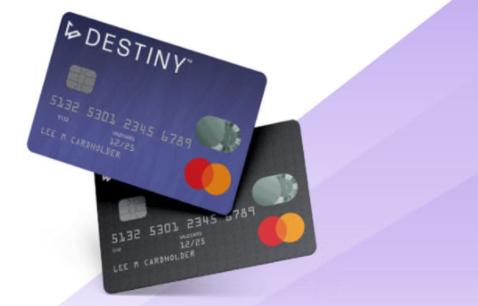destiny mastercard credit card