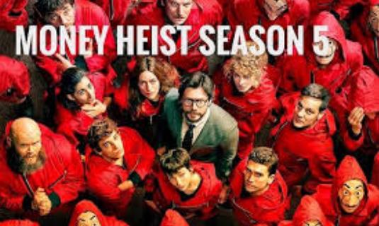 Money Heist Season Finale 5