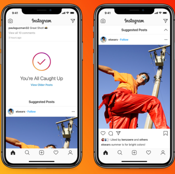 Instagram's Latest Test Puts 'Suggested Posts' Before Friends in Your Feed